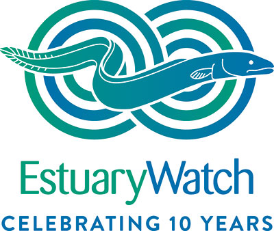 10 years of EstuaryWatch logo