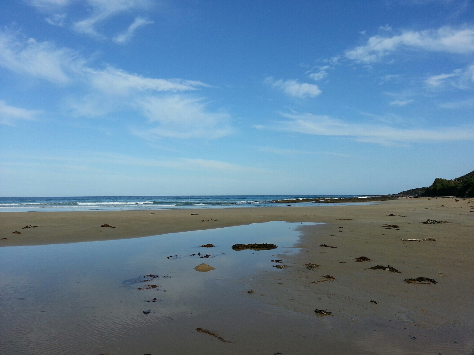 Wye River mouth closed 22 March 2015 16,30