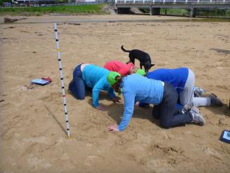 Berm measurement training