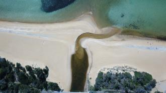 Berm_120m_altitude_from_edge_of_bridge.JPG:
